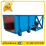 Through feeder,chute feeder machine