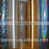 Hologram pvc twist wrap film for candy wrapper