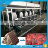 No Binder Hydraulic Structure Small briquette making machine for BBQ Burning