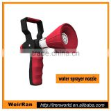 (10360) rubber handle big switch heavy duty fire fight garden hose nozzle