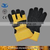 Weight Lifting Gloves Industrial Leather Hand Gloves LG013