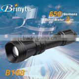 Zoomable 400m Beam Distance LED Hunting Flashlight Torch                                                                                                         Supplier's Choice