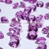 Wedding decoration acrylic diamond confetti bulk confetti purple diamond confetti