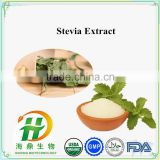 Bulk 95% 98% Stevia Extract White Powder , dry Stevia leaves , natural sweetener benefit