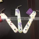 Transfer printing Hello Kitty Horse hoof pick W/Brush