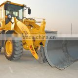 Chian supplier zl20f 4wd mini wheel loader with auger snow blower for sale low price