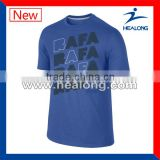 promotional cheap 100%cotton design sports t-shirts
