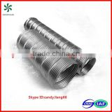 Semi-rigid Stainless steel 304 flexible duct
