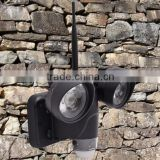 Outdoor waterproof hidden camera with led light