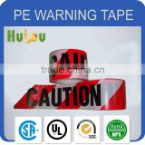 printable white and red barrier caution non stretch tapes