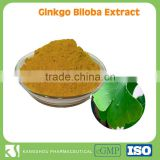High quality Natural extract Ginkgo Biloba leaf extract with 20% Flavoneglycosides                                                                         Quality Choice
