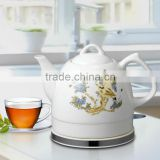 Home Appliance 1L Electric Ceramic Porcelain Tea Kettle                                                                         Quality Choice