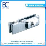 new products in china glass door patch fitting bottom clamp with lock (DL-055)