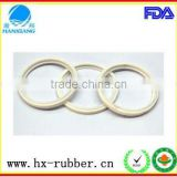 Eco-friendly good function chemical resistant manufacturer made industrial rubber and silicone gasket