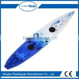 Hottest fishing kayak wholesale no inflatable sit on top kayak for two persons from China manufacturer