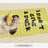 hot summer round towel pug dog fashion larger circular folding beach towel pareo 3d digital print custom hot sale wholesalers