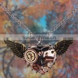 Yiwu Market Wholesale Hip Hop Jewelry Steampunk Necklace for Sale