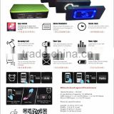 10000mAh APP Control power bank,Alarm Clock power bank,Alarm Reminders power bank with Bluetooth