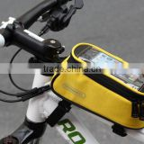 Wholesale Cycling Bike Bicycle Phone Case Frame Front Tube Bag bicycle bags