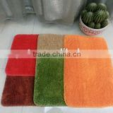 bath room shaggy Microfiber chenille rug for floor