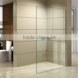 new arrival one piece tempered glass shower door design,shower wall,shower screen                                                                         Quality Choice