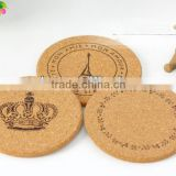 cork cup mat coaster MDF cup mat for whole femily