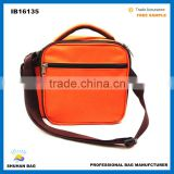 apple shape Cooler Bag factory shoulder thermal bag insulated lunch cooler bag for frozen food