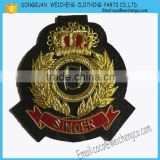 Hand made badges wire badges /Hand Embroidery Mylar Brazil Army Military Uniform Patch Badge Insignia Cap Beret