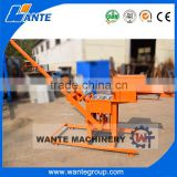 WANTE BRAND construction equipment WT2-40 manual clay interloking brick making machine for sale