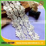 Direct factory cotton polish knitting eyelet voile lace Korea for Garment,dress,home textile