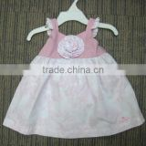 wholesale fitness clothing sweet fancy baby 1 year old party dress