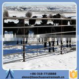 hot dip flexible metal horse fence and electric fence polytape
