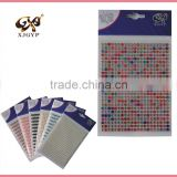 self adhesive pearls and rhinestone stickers/diamond car sticker/diamond sticker for car body