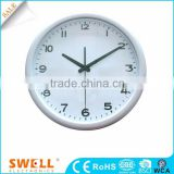 Country style silver white decoration wall clock retro , buy wall clock