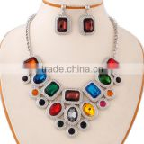 Hot sell fashion heavy kundan jewelry set custom MLJS 04