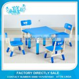 Child study table and chair nursery or preschool furniture