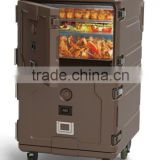 LLDPE&PU plastic insulated food transport cabinet/box