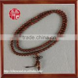 6mm high quality indian lobular red sandalwood Buddha bracelets &bangles&necklace with 108 beads