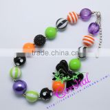 High Quality Handmade Bead Jewelry Yiwu Cordial Design Rhinestone Beaded Necklace For Girl