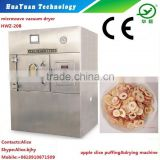 Fruit Chips Drying Equipment for small working shop-Microwave vacuum dryer for Strawberry Chips