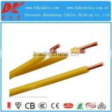 2.5mm single core cable electrical cables size 2.5mm single core multistrand 450/750v bvv single core cable