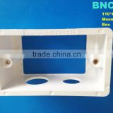 Hot sales White Plastic Wall Internal Mount Box for 110mm*66mm UK Standard Wall Light Switch
