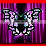 Remote Control LED Wings Programmable LED Belly Dance Wings, Wireless DMX512 Dance Isis Wing