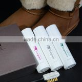 Hanor 2013 Shoe Care Products/Shoe Suede Spray/Suede Brush in this Suede Leather Care Kit