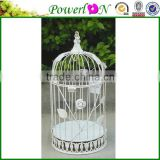 Vintage Antique Metal White Round Outdoor Iron Garden Home Bird Cage For Wedding Decoration TS05 G00 C00 X00 PL08-5848G