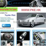 Passive Keyless Entry PKE Remote Start Push Button Start Engine with Auto Car Alarm System for Toyota Reiz