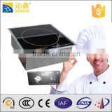 built in single burner intelligent induction cooker 3500w/commercial temperature control induction cooker china manufacture