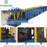 c z purlin roll forming machine factory used, high quality c purlin machine, professional purlin machine