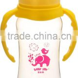 240ml 8oz popular round shape standard neck baby bottle feeder