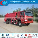 2015 new sinotruck 20ton compactor garbage truck hot sale used garbage trucks factory direct sale garbage truck for sale